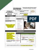 Redaccion y Documentacion 2014-2