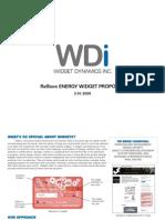Widget Dynamics ReStore Proposal