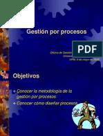 Gestion por Procesos en el año 2008