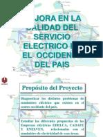 Proyecto de Mejora en La Calidad de Servicio de Electricidad