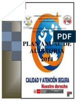 Plan de Auditoria 2014 HRDLM