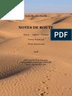 Eberhardt Notes de Route