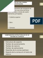 Componentes Correa transportadora mineria