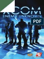 XCOM Enemy unknown Manual Español