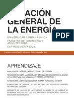 ecuacion general de la energia -mecanica de fluidos