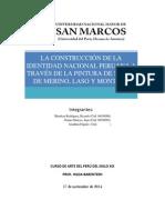 Pintura de Salón y La Construcción de La Identidad Nacional Peruana