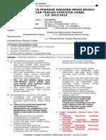 Contoh Soal Pengantar Manajemen1