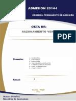 GUIA BASICA - RAZONAMIENTO VERBAL