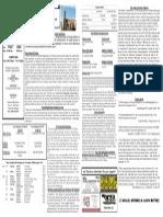 11/30/14 Bulletin
