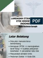 Kode Etik Kedokteran Indonesia (Kodeki)