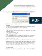 Lệnh cơ bản trong mạng LAN