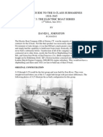 Visual history of balao and gato class submarines