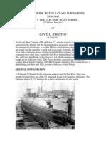 Visual history of balao and gato class submarines
