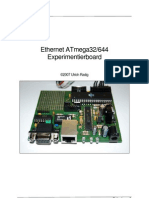 Ethernet ATmega32/644 Experimentierboard