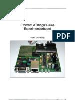 Ethernet ATmega32/644 Experimentierboard