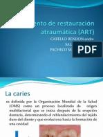 Tratamiento de Restauración Atraumática (ART)