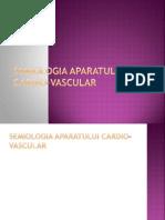 semiologia aparatului Cardiovascular