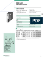 FB 2201 - 2213 Digital Output With