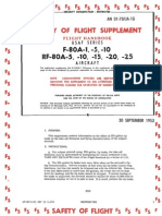F and RF-80A Flight Manual