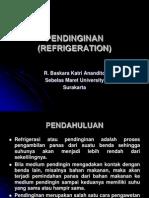 Pendinginan (Refrigeration)