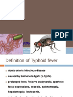 Typhoid Fever Ppt 30-3-10