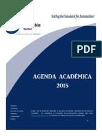 Agenda Academica 2015 ISA Colombia