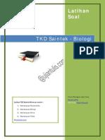 Latihan Biologi Sbmptn 2014