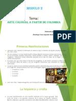 Portafolio 2 Arte Colonial a Partir de La Colombia