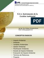 E.I.a. Instrumento de La Gestión Ambiental