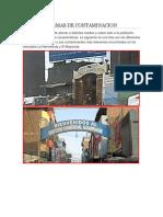 Tipos de Contaminacion en Trujillo