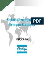 ATLAS COPCO.- Evolucion Teconlogica en La Perforacion Subterranea -PERU
