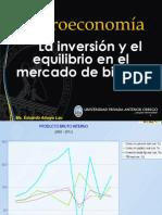 La inversión y el equilibrio en el mercado de bienes