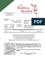 December 2014 Newsletter