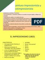 14 5 - el impresionismo y postimpresionismo