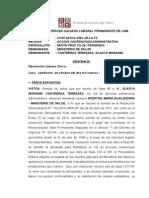 Resolucioan Gladis Contreras
