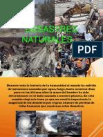 Presentación Desastres Naturales.