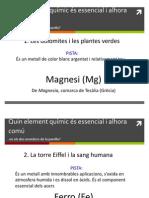 Parelles d'elements químics