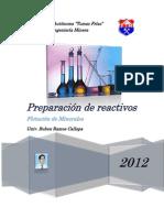 Preparacion de Reactivos