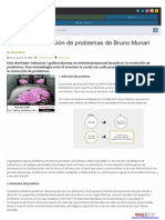 Método de Resolución de Problemas de Bruno Munari