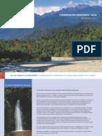 Memoria Anual 2013 - Conservación Amazónica