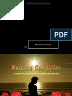 VALOR DE LA MUJER.ppt
