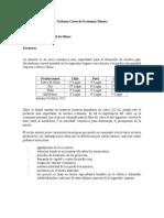 3.- Trabajo Para Asignatura de Economia Minera I Semestre de 2013