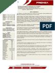 Boletin de Prensa 43 Leones - Cardenales