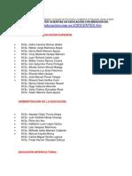 La Universidad Nacional Del Altiplano Maestria