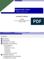 SLIDE2 Programação Linear