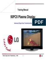 LG 50PC5 Training Manual