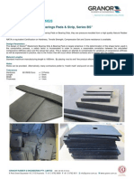 GRANOR Elastomeric Bearings Pads Strips - Series BS