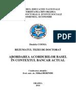 Abordarea Acordurilor Basel 2014