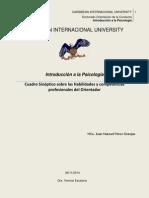 Cuadro Sinoptico Habilidades y Competencias Del Orientador