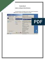Instalacion y configuracion del servicio Active Directory en Windows Server